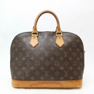 Auth Louis Vuitton Alma Hand Bag #1815L19